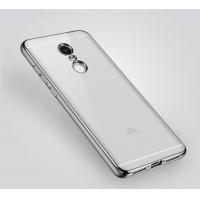 Чехол бампер плотный силиконовый прозрачный - Xiaomi Redmi Note 4 2016 г.