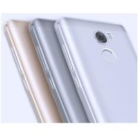 Чехол бампер плотный силиконовый полупрозрачный Xiaomi Redmi 4