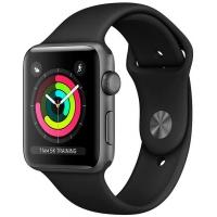 Apple Watch Series 3 MTF02 38 мм (алюминий серый космос/черный)