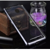 Чехол бампер плотный силиконовый прозрачный хром Xiaomi Redmi 3S / 3 pro / 3X