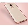 Чехол бампер плотный силиконовый прозрачный хром Xiaomi Redmi 4