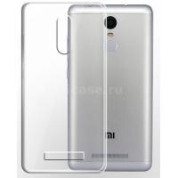 Чехол бампер силиконовый прозрачный Xiaomi Redmi Note 3 / 3 pro