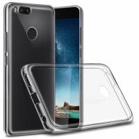 Чехол бампер силиконовый прозрачный Xiaomi Mi A1